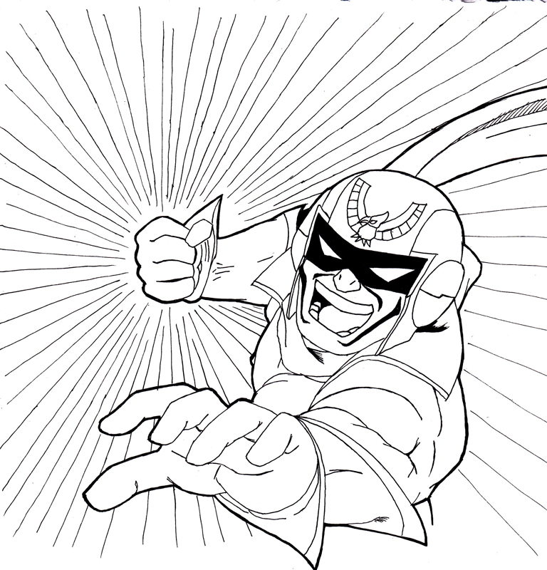 Falcon Punch!