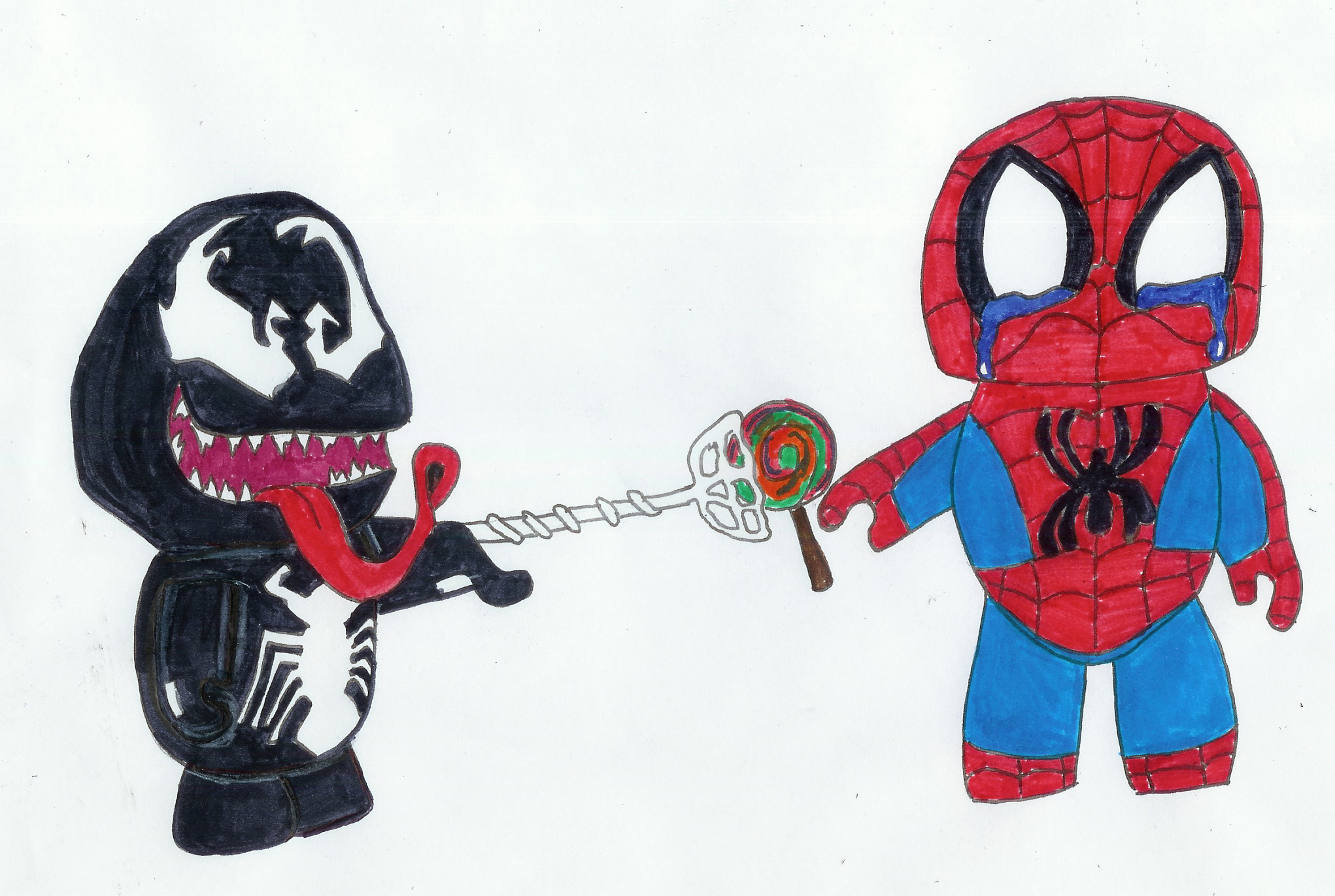 why spiderman hates venom pt 1