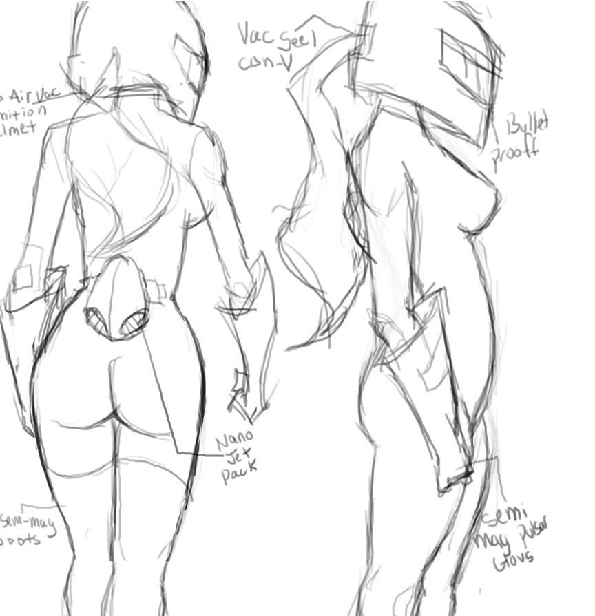 GINA Character sketch