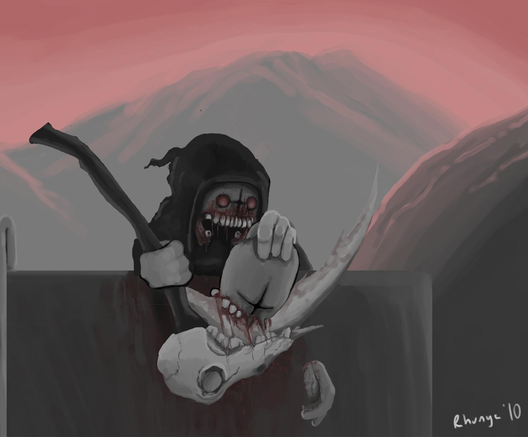 Eat my scythe
