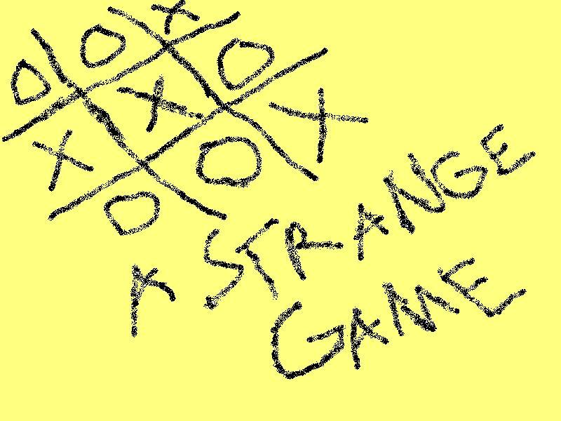 A Strange Game...