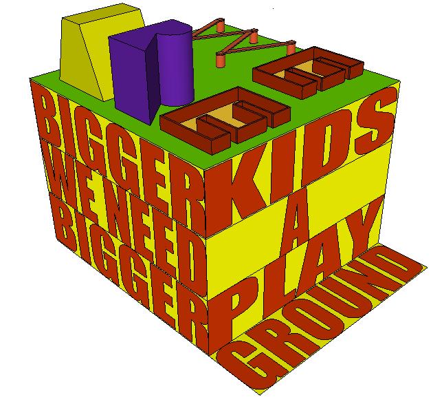 Bigger kids, Bigger playground