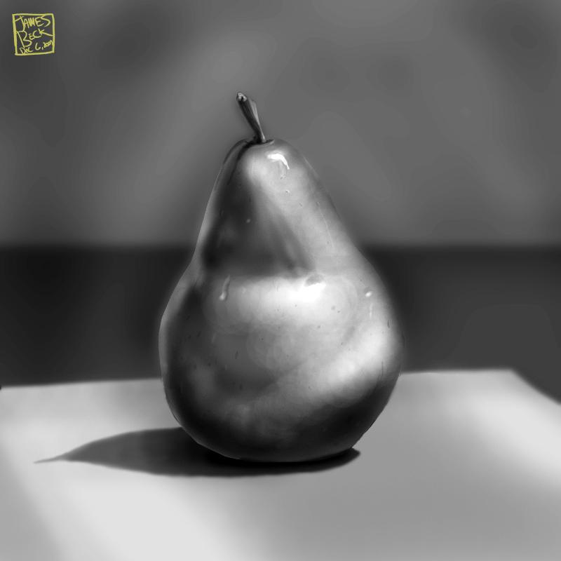 Pear Still Life