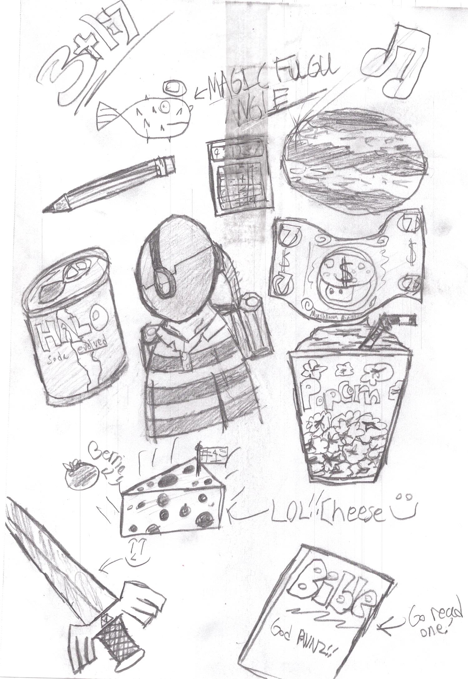 ramdom doodles