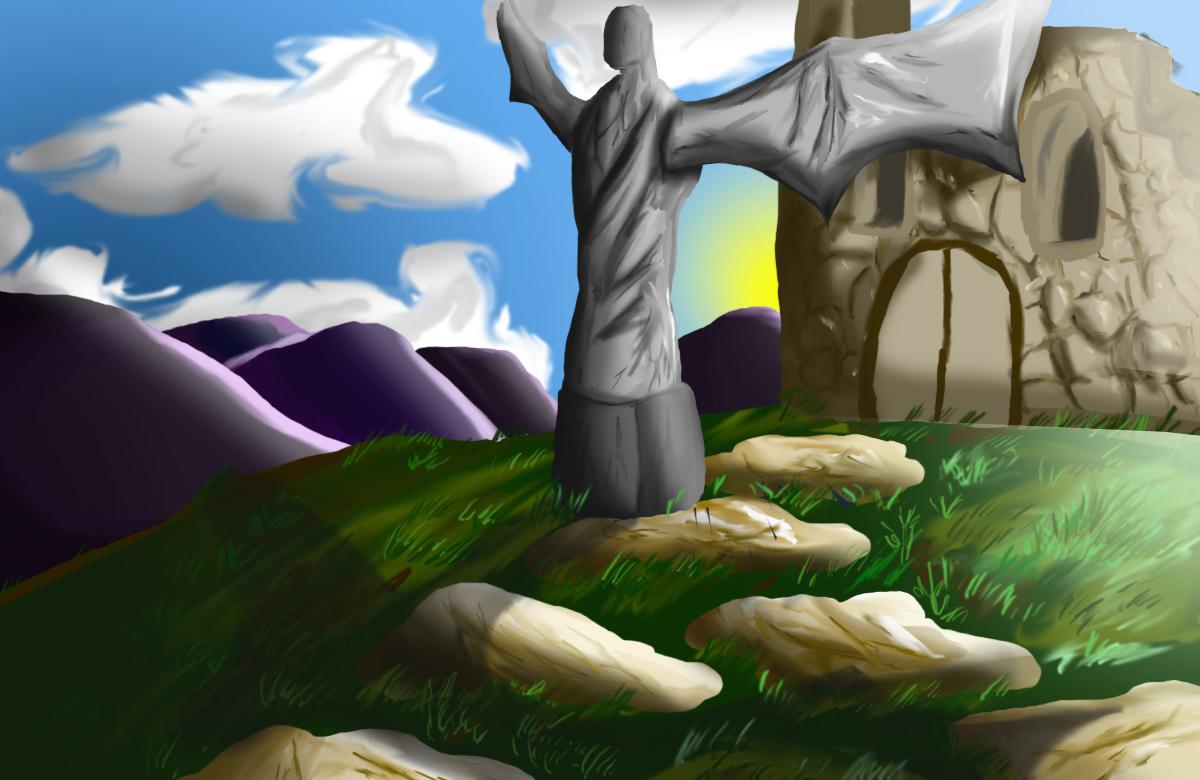 background work