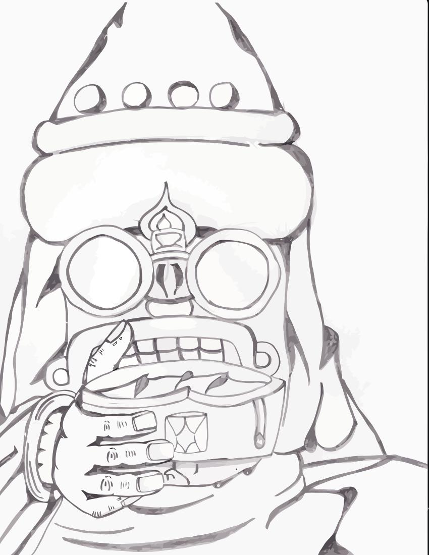 Aztec Priest