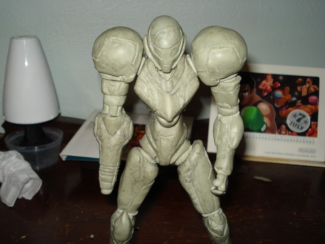 Metroid other M custom figure