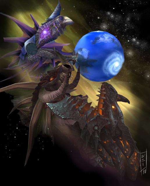 Three Dragon Azeroth