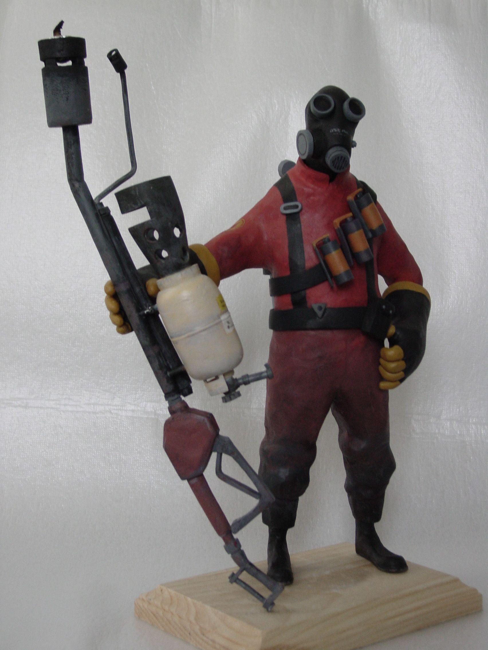 Pyro candle holder