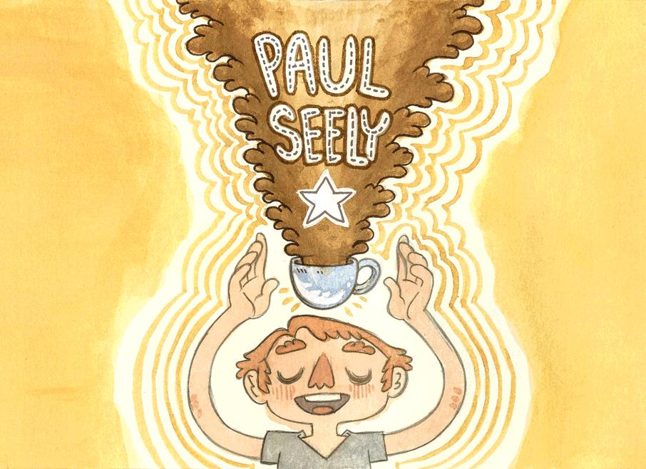 Paul Birthday Coffee Splash