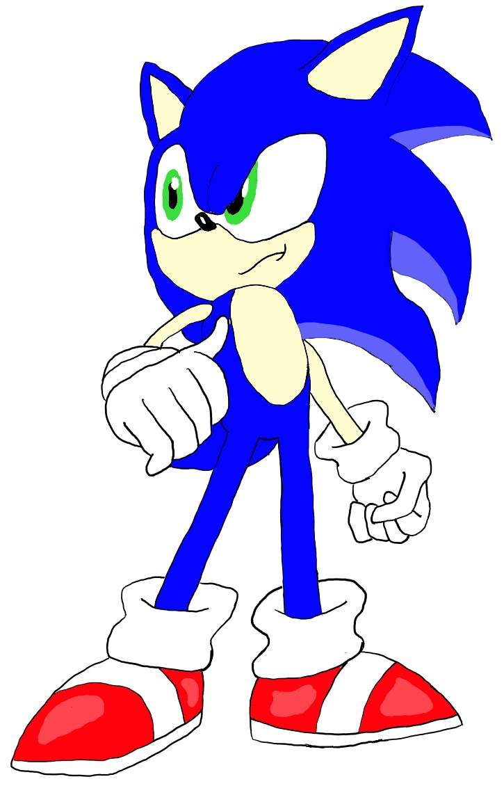 Sonic (Colored)
