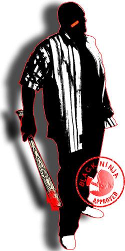 Black ninja Gang Member