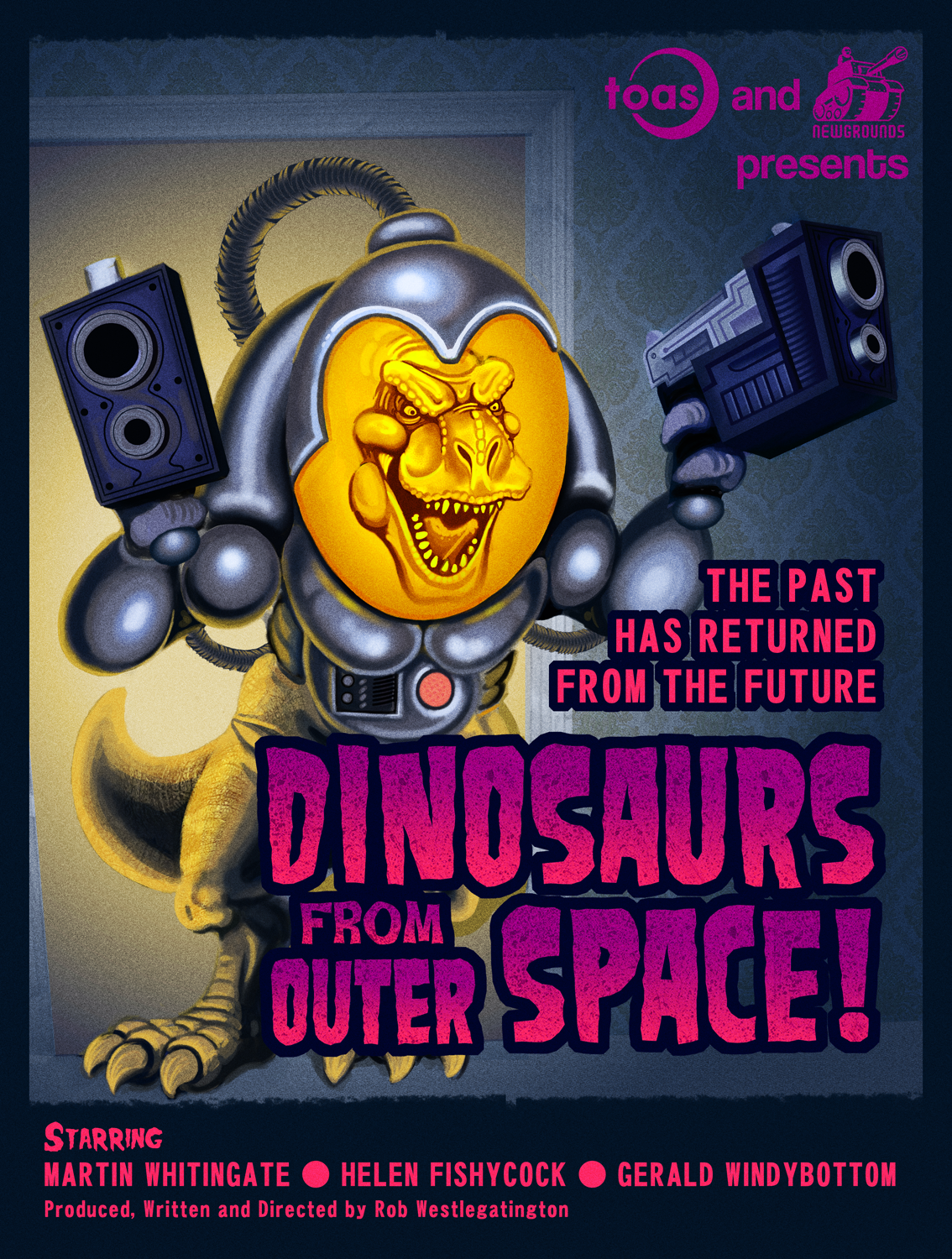 Dinosaurs From Outer Space!