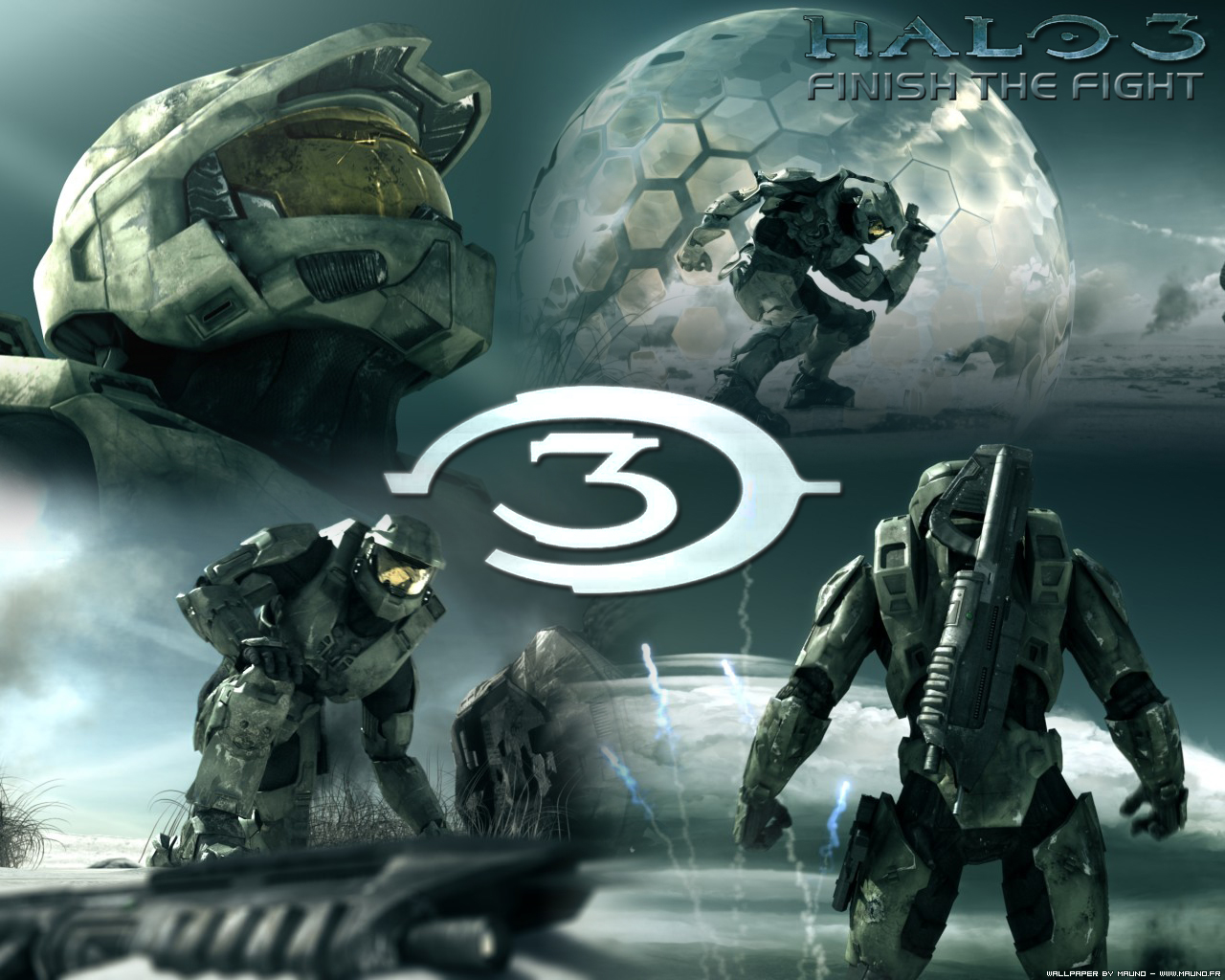 Epic Halo 3 Background