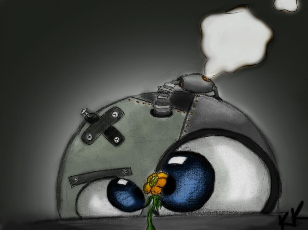 Robo love flower v2