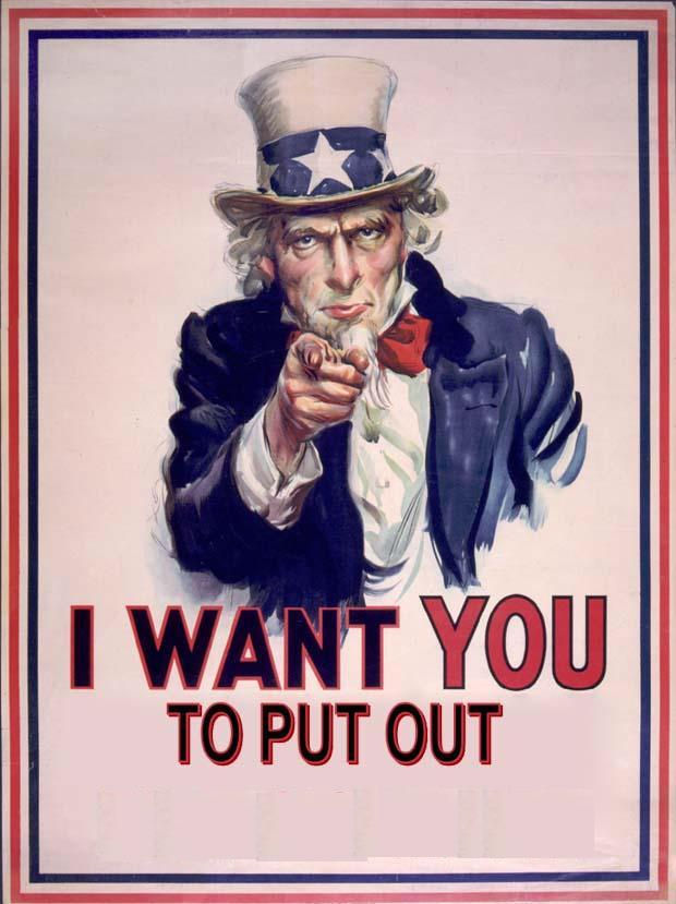 Uncle Wants YOU to Put Out
