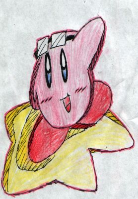 Kirby (Sonic Rider Style)