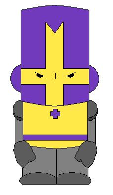 Purple Castle Crasher