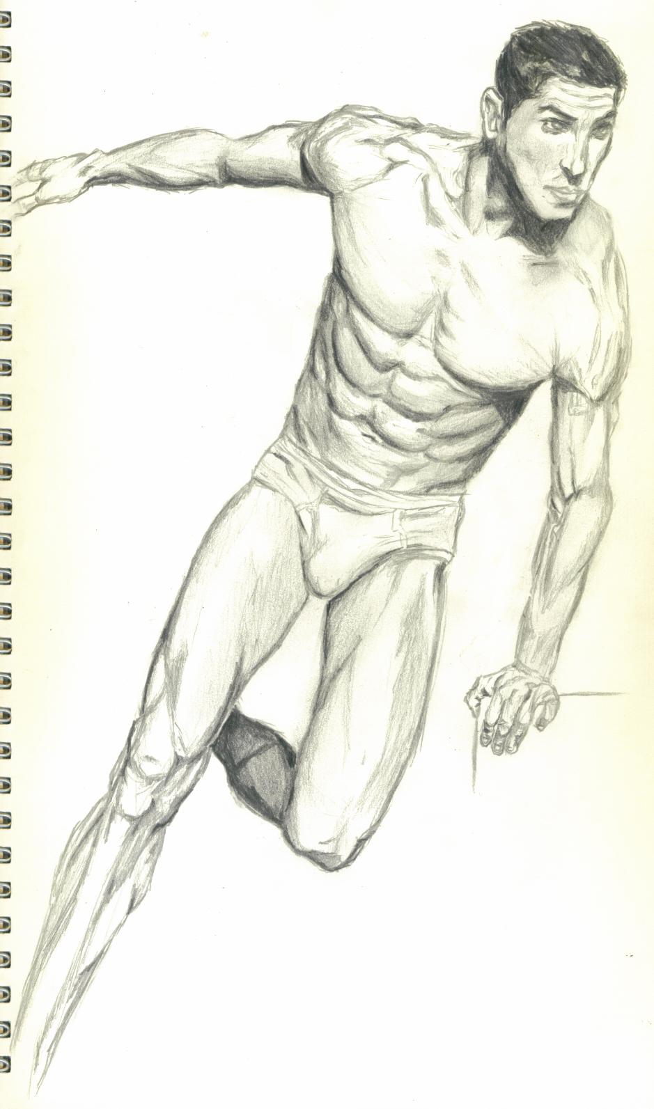 Underwear Model Dude
