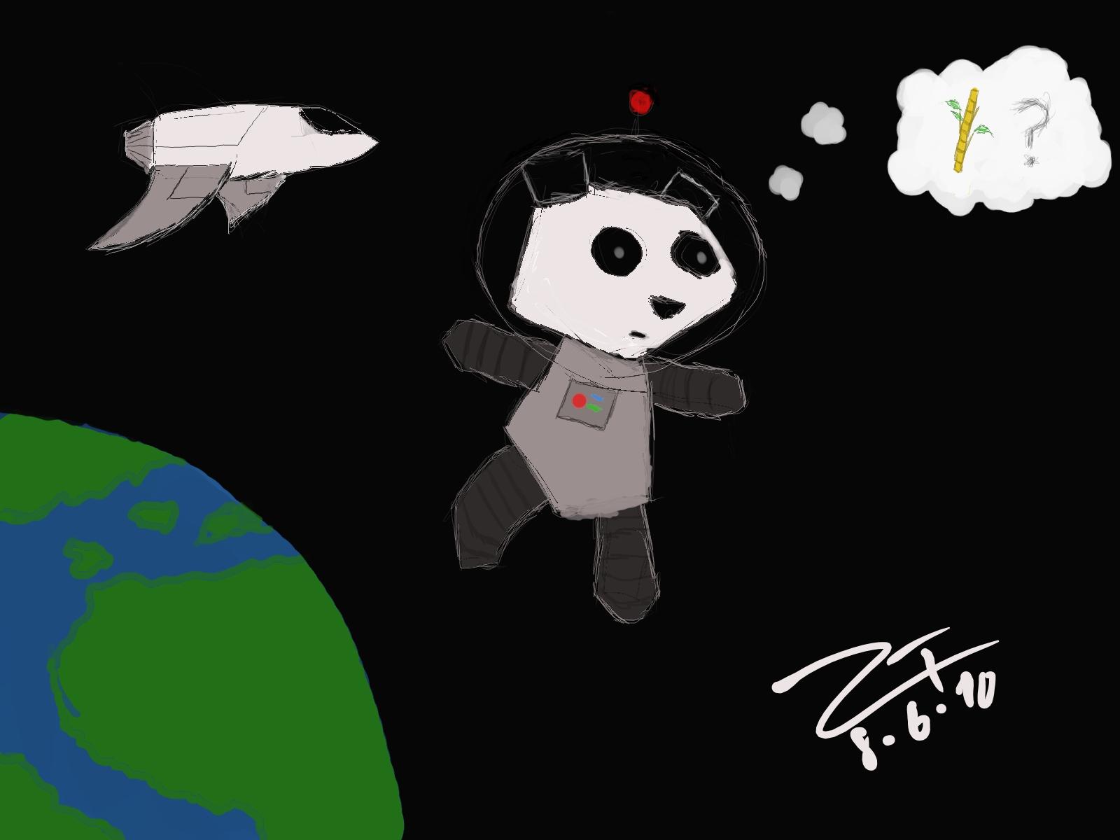 Space Panda!