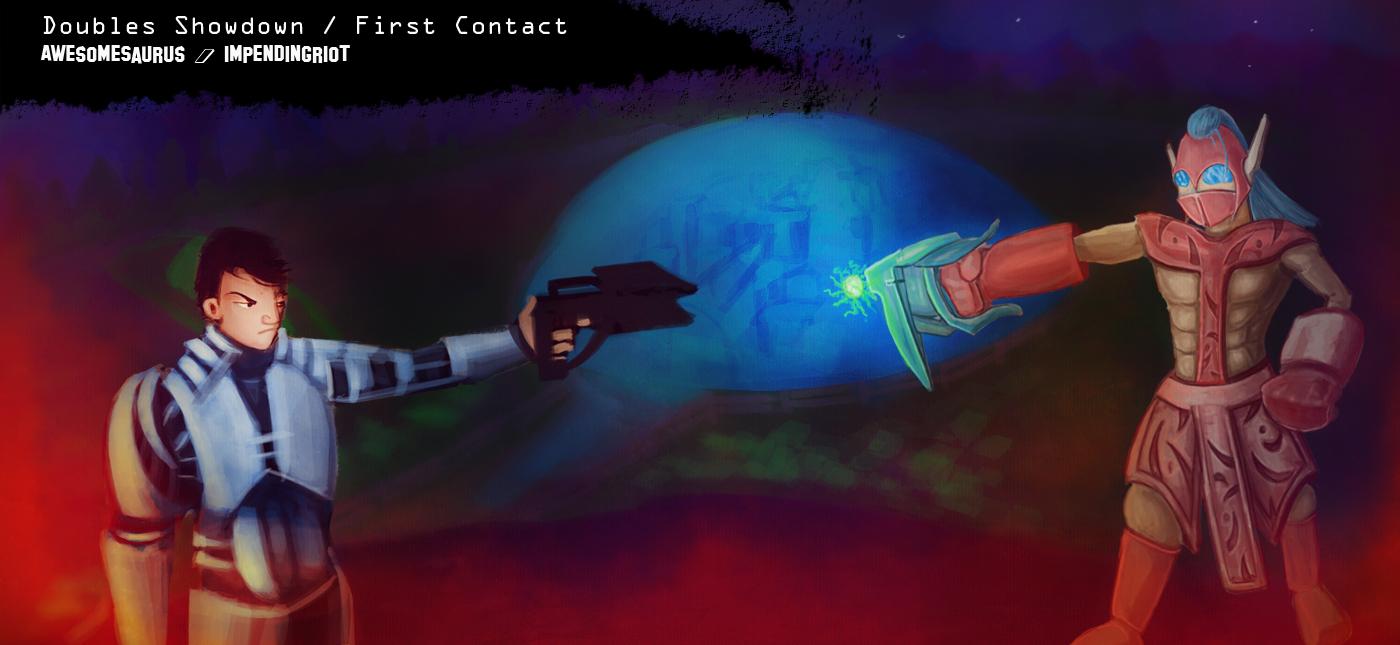 First Contact - Saurus / Riot