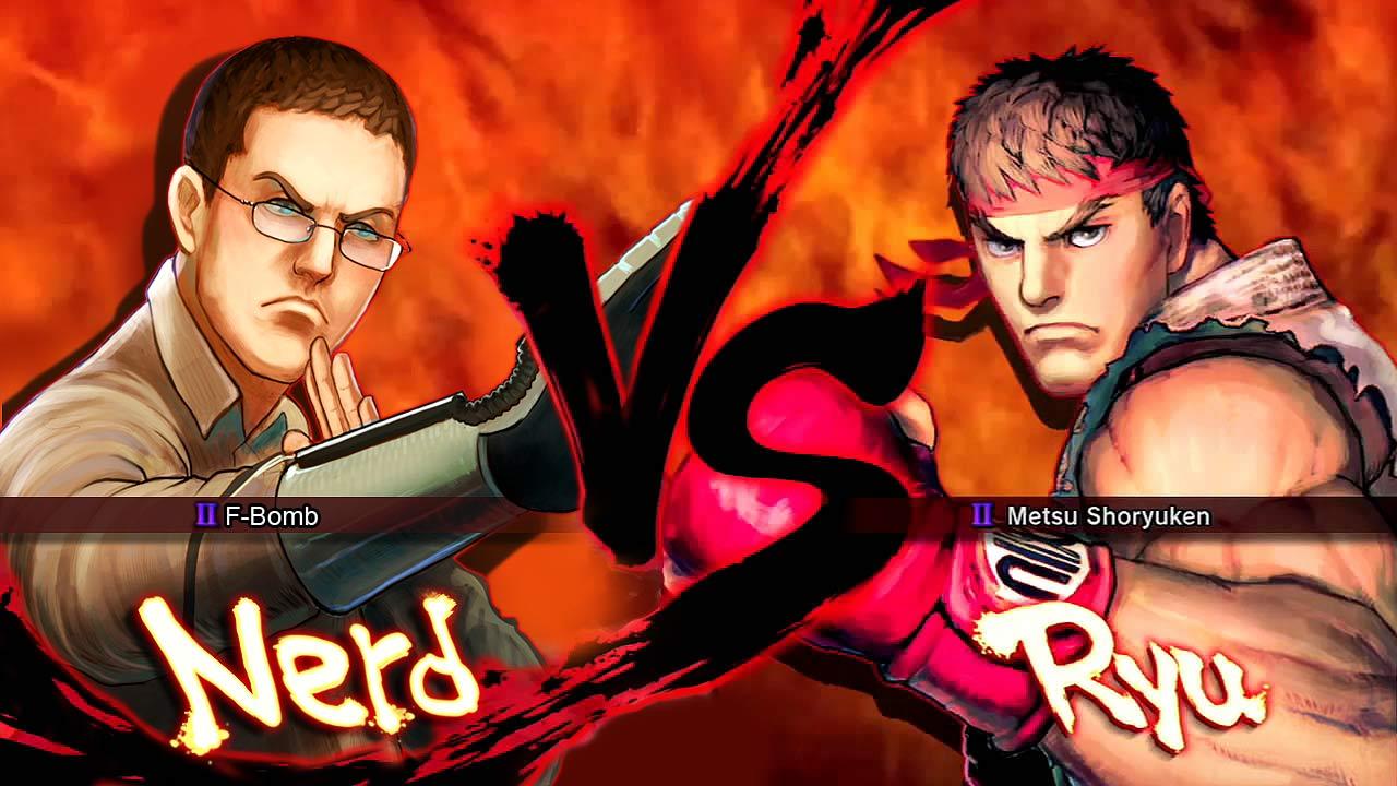 Nerd VS Ryu
