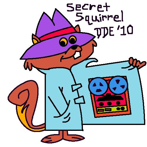 Secret Squirrel!