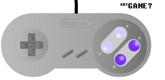 Got game? SNES Controller