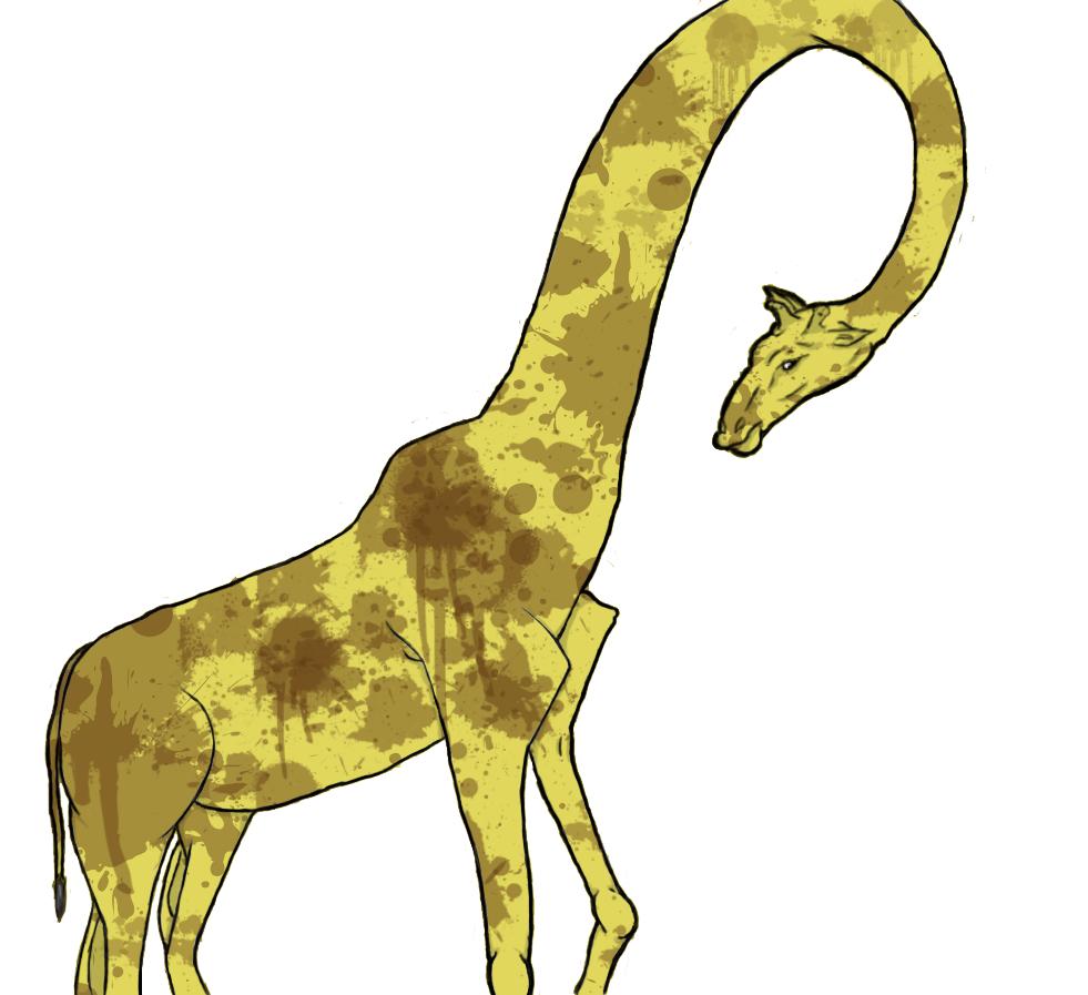 Splatterspot Giraffe
