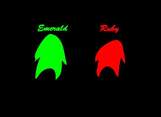 Emerald & Ruby