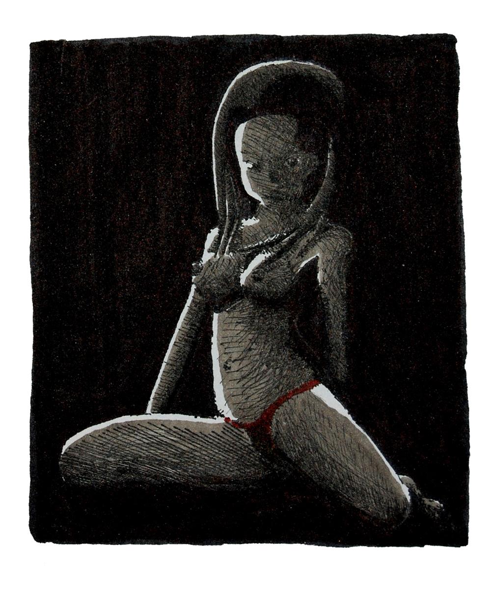 Figure in Shadow
