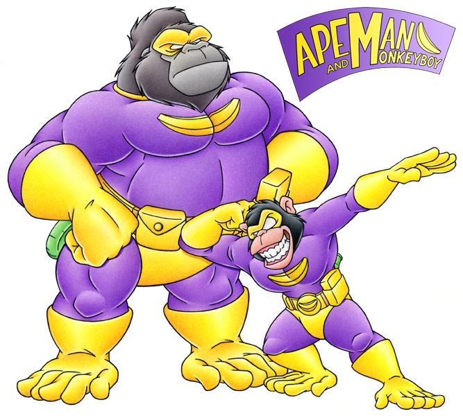 Simian Superheroes