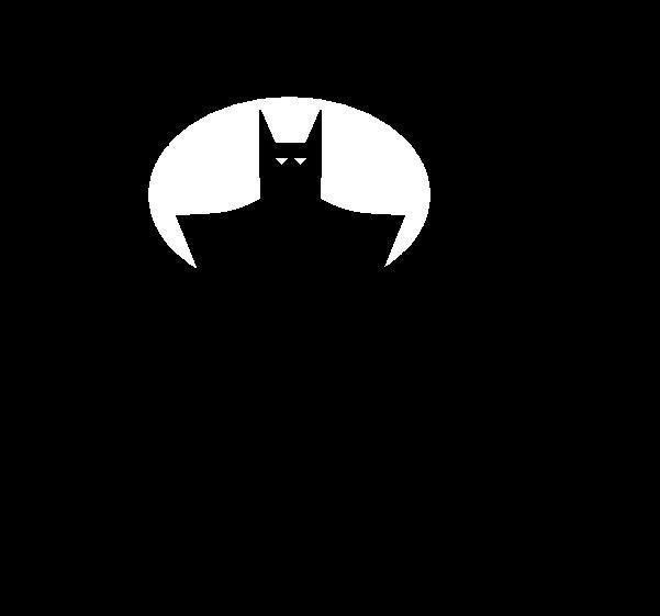 Batman in the shadows