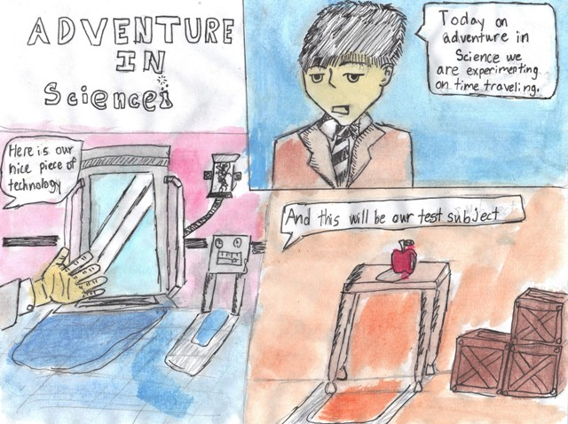 Adventure in Science page 1