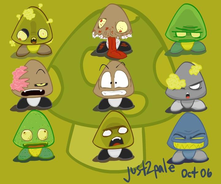 Halloween Goombas