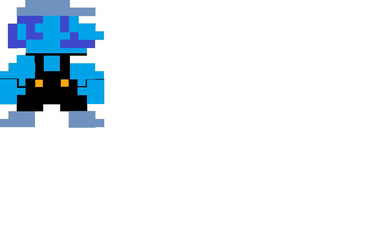 8-bit Shadow Mario