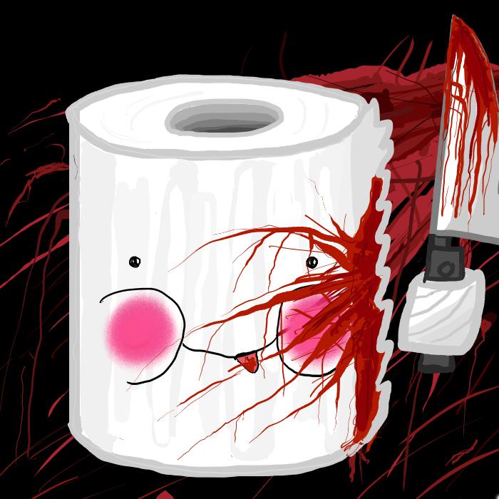 Serial Killer Toilet Paper...w