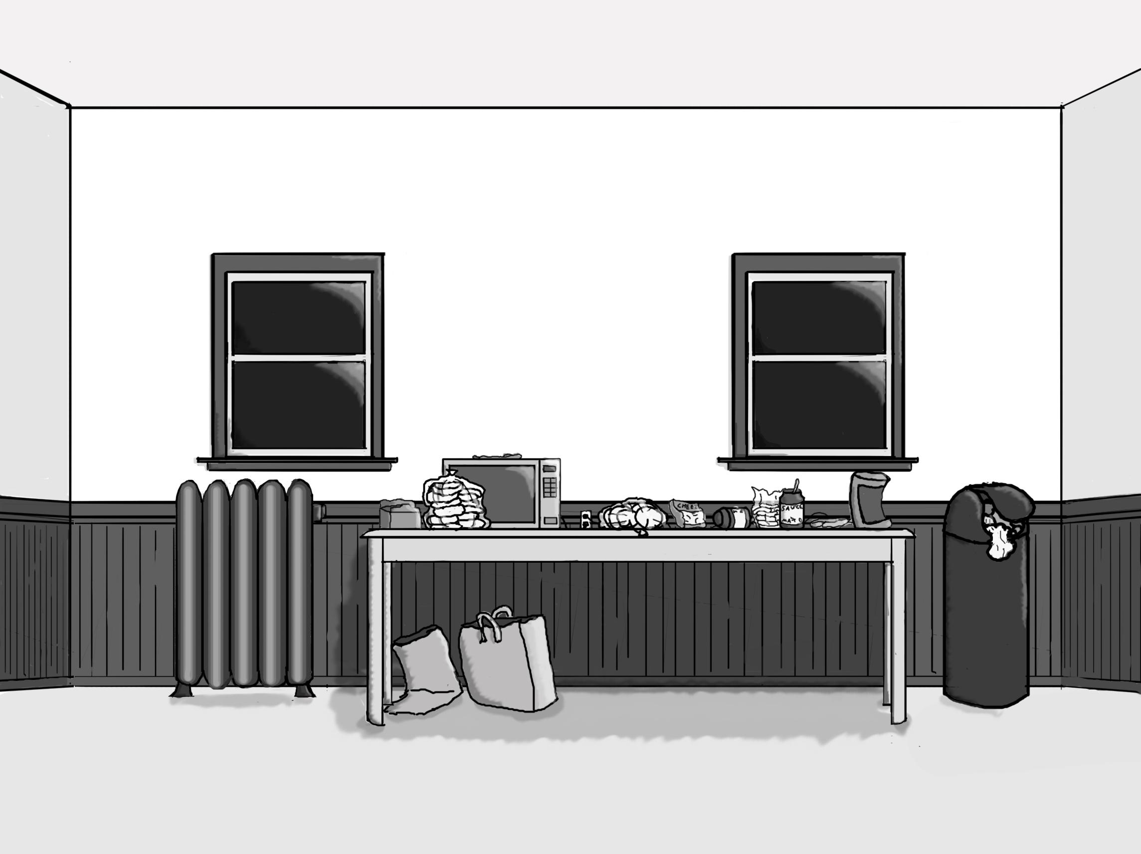 Pizza Waffles Background 1