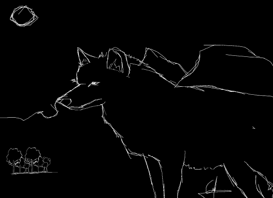 The wolf´s night