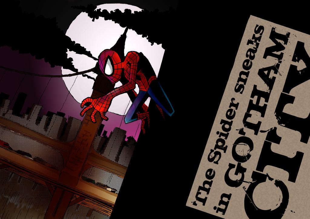 A Spider Man in Gotham