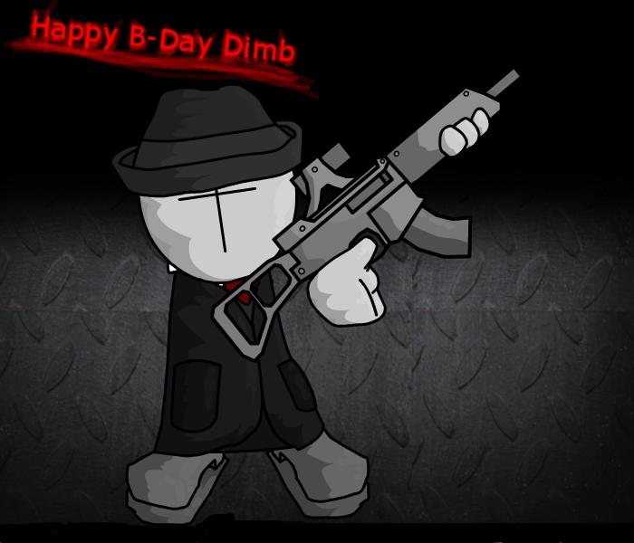 Happy B-Day Dimb