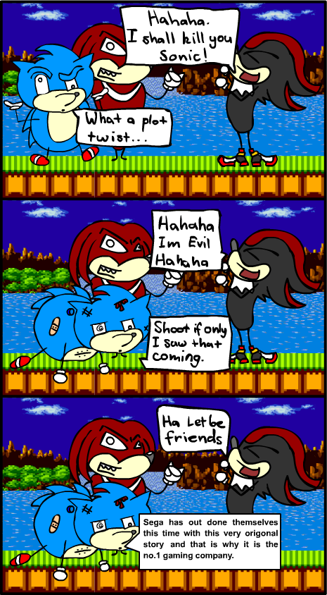 Sonic & Shadow Comic