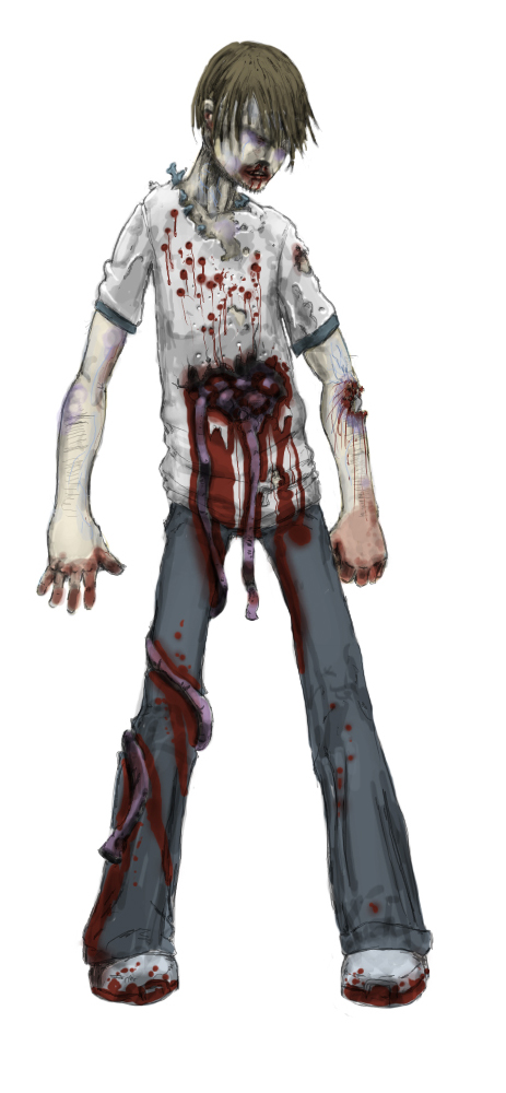 Zombie Character Mockup