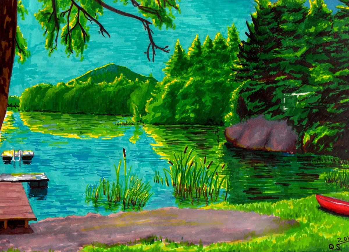 Sharpie Pond