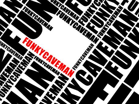 funkycaveman Typography