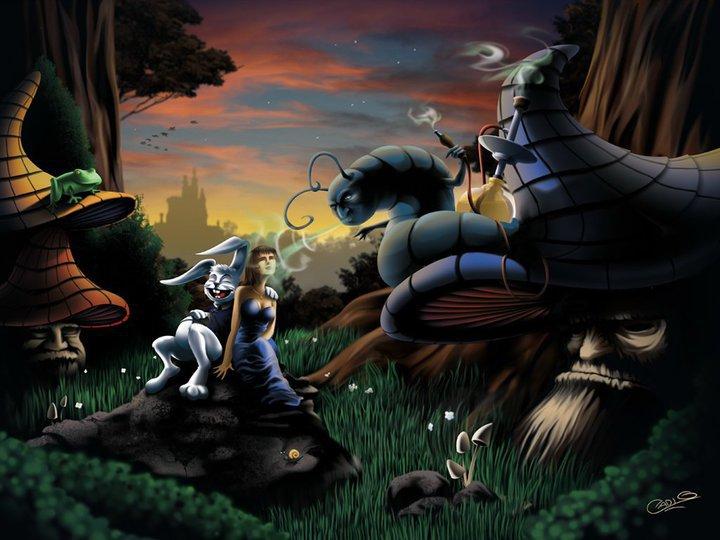 Alice in Ganjaland