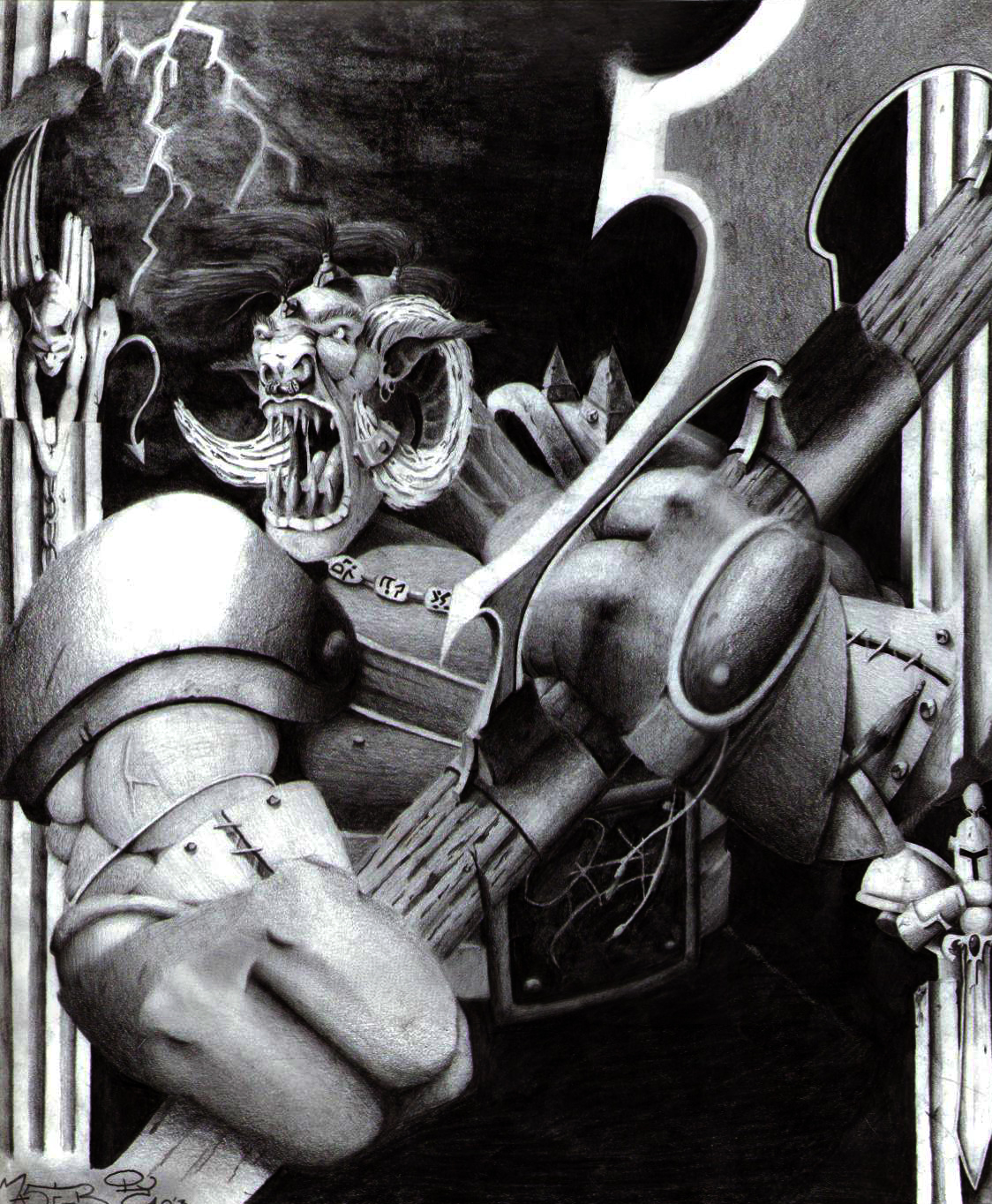 Ogre Warrior Lord