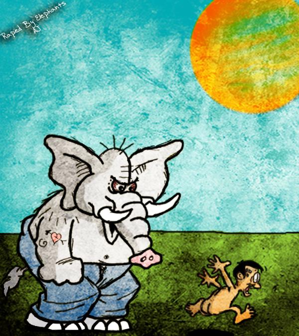 Raped By Elephants