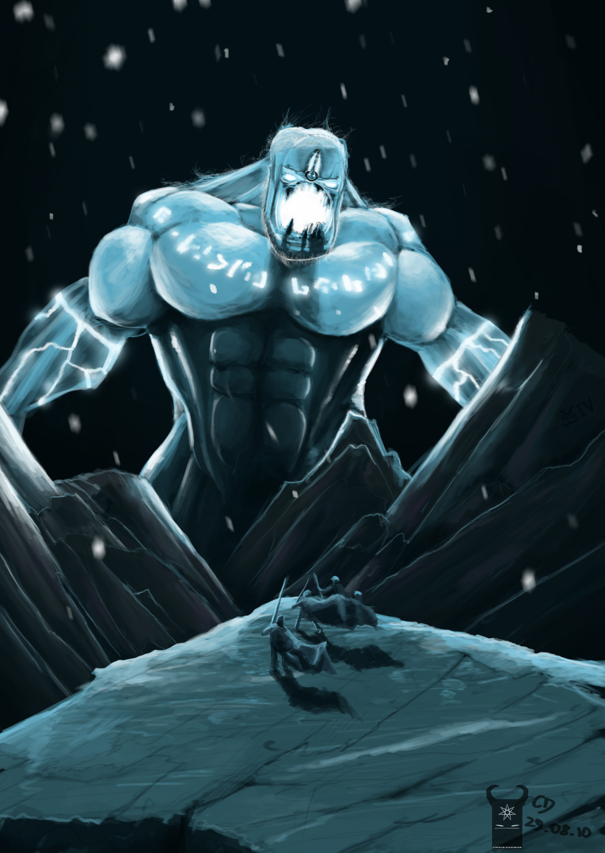 Ice Giant is Agnry