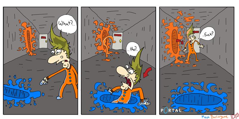 Portal Comic
